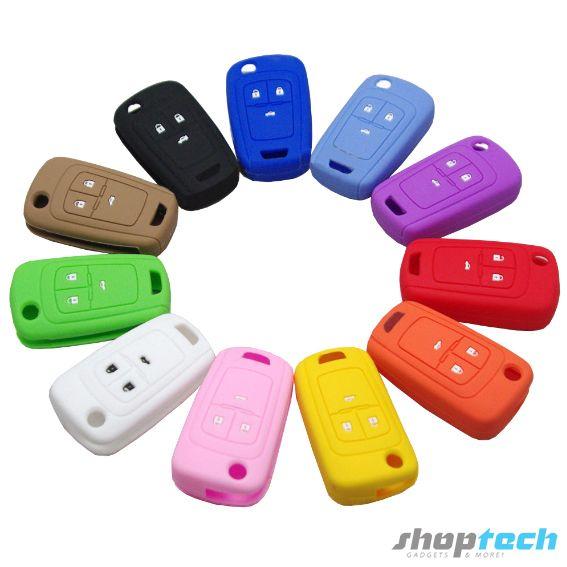 Funda de silicón para Chevrolet Cruze, Spark, Sonic, Trax. Dale un toque distintivo a tu llave.