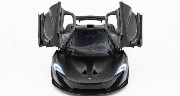 "2015 McLaren P1  - ""Black On Black"" | Classic Driver Market"