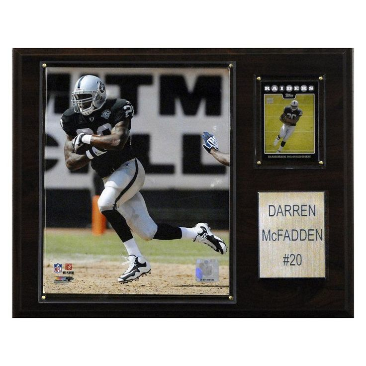 NFL 12 x 15 in. Darren McFadden Oakland Raiders Player Plaque - 1215MCFADD