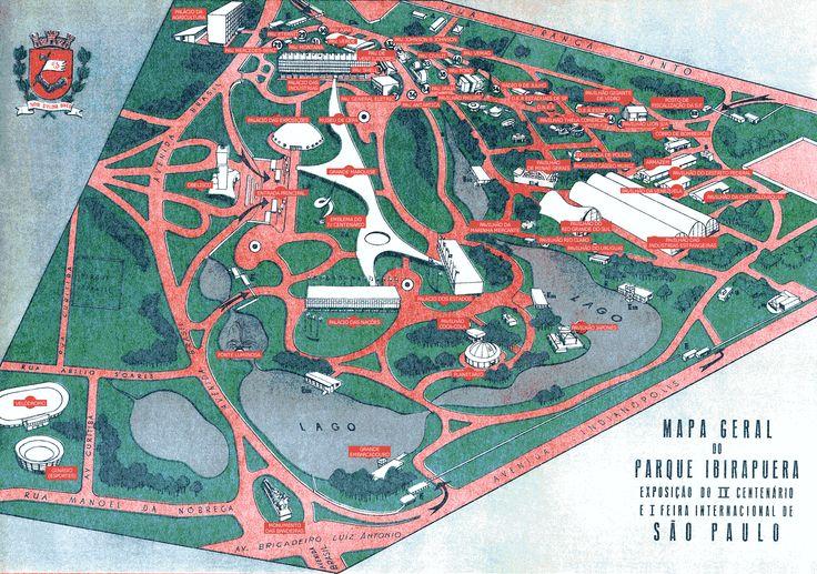 Mapa fotográfico do Parque Ibirapuera via Google Maps: Exibir mapa ampliado Mapa com locais de venda de zona azul Visualizar... (+)