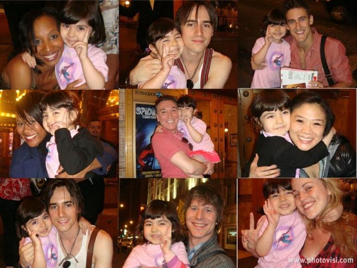 Suzu and her mom (Nami) are no stranger to the Spidey Stage Door!  sc 1 st  Pinterest & 20 best Spidey Stage Door images on Pinterest | Doors Musicals ... pezcame.com