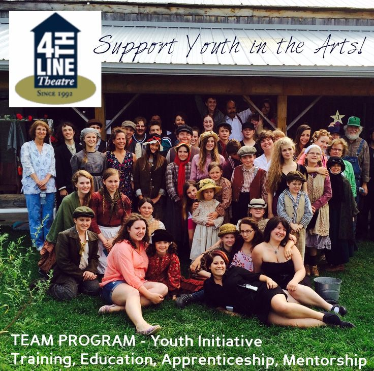 We aim to raise $3,000 by March 15, 2017 to support our 2017 season TEAM program youth initiatives. See below for more information about the program.  Individual donors are the bedrock of our theatre and we need your support now more than ever as costs continue to rise. All funds donated will dir...