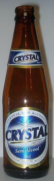 Cerveja Crystal Sem Álcool, estilo Sem álcool, produzida por Cervejaria Petrópolis, Brasil. 0.5% ABV de álcool.
