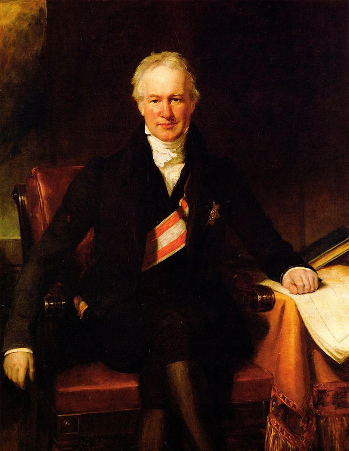 H. W. Pickersgill   Alexander von Humboldt, 1831   In 1814 he accompanied the allied sovereigns to London. Three years later he was summoned by the king of Prussia to attend him at the congress of Aachen.