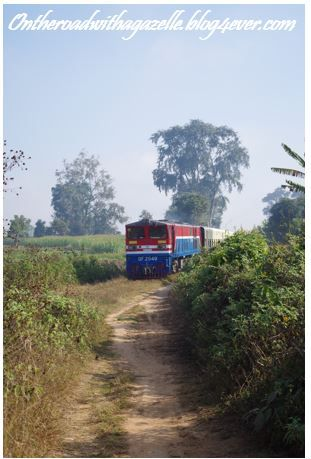Hsipaw's train