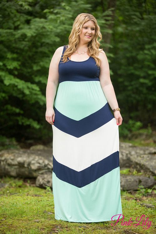 We adore this sweet colorblock maxi in navy, mint, and white - we're sure you'll love adding it to your summer collection too! It features a tank with two inch straps, an elastic waistband, and soft fabric that will make this an all-day favorite!
