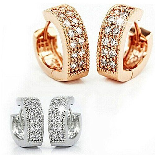 delatcha Heart Earring 925 Sterling Silver Earrings with ...