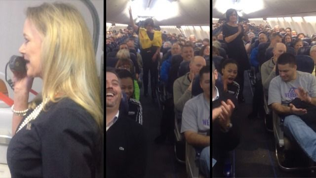 This Southwest Airlines Flight Attendant Is Surprisingly Funny. If only Delta/Delta Connection would let us do that, that would be awesome.