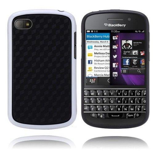 Edge (Valkoinen) BlackBerry Q10 Suojakuori