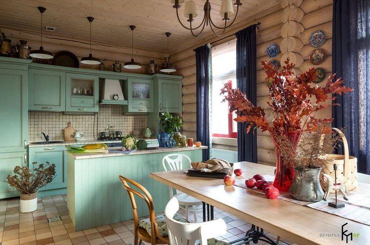 100 лучших идей дизайна деревянной кухни | Интерьер кухни в деревянном доме
