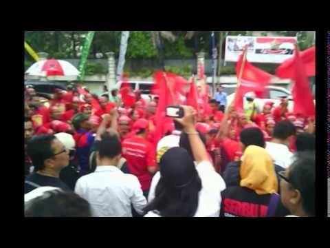 Persiapan Penyatuan Barisan Relawan Nasional Jokowi JK dari barisan Rela...