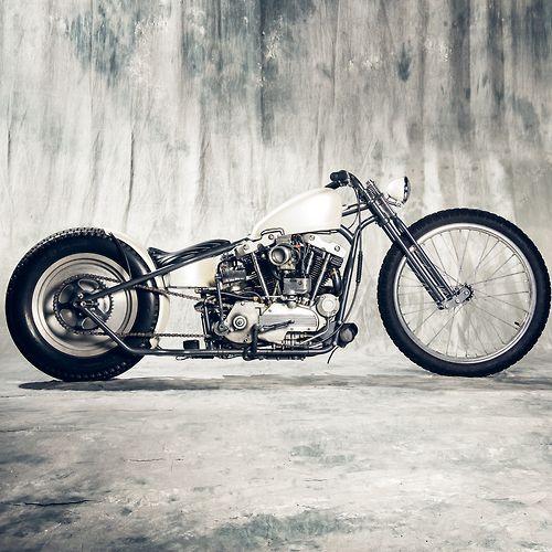 Bobber Inspiration | Ironhead custom bobber by Prism motorcycle co. | June 2014