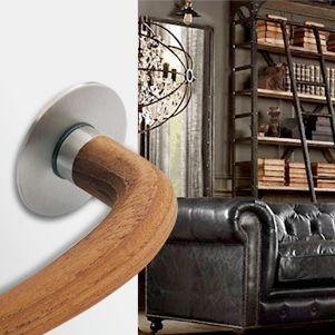 JeanNouvel Handle #arconmanillas #handles #doorhandles #manillas #herrajes #manijas #manivelas #puertas #jeannouvel #nouveldesign #madera #wood #acero #decoracion #diseñoautor #interiorismo #JNhandle #JN #arcon