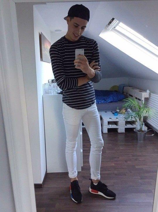 Weiß skinny