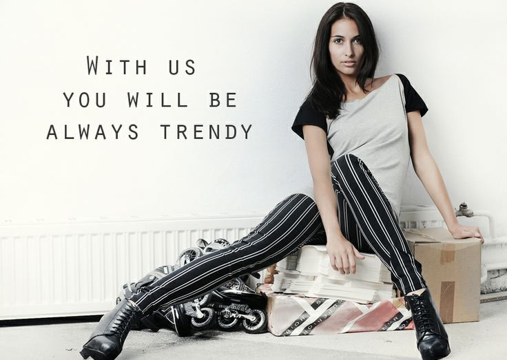 With us wil be always trendy. YNNY Fashion for You