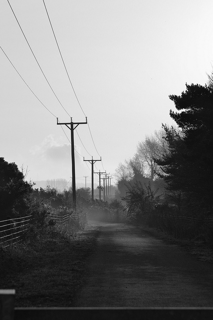 Road near the River Dee