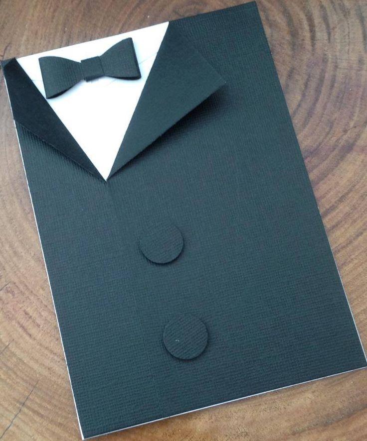 Congratulations Tuxedo card #handmade
