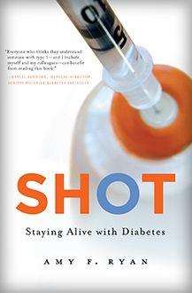 SHOT...a diabetes book I want to read!