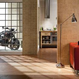 Dlaždice Wood: imitace dřeva a ideální materiál pro podlahové topení RAKO HOME