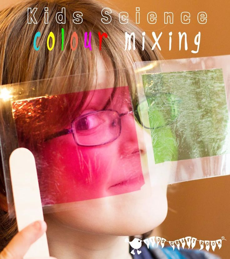 KIDS SWEET WRAPPER SCIENCE - Kids will have a lot of fun exploring colour mixing and light with this hands on science exploration.