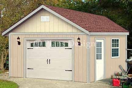 Design P81616 16 X Shed With Porch Plans Roof Style