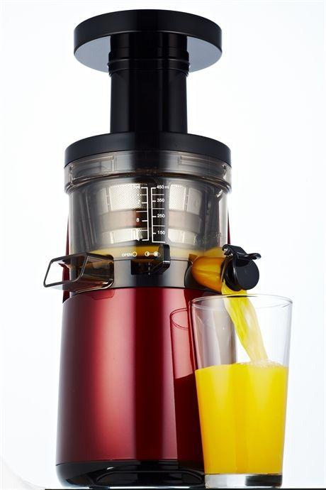 Slow juicer HU-700 2nd generation vinröd, Hurom
