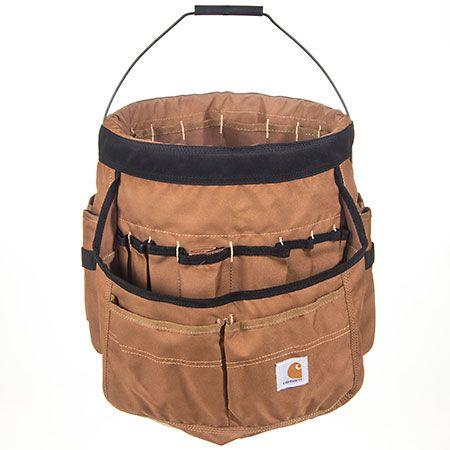 Carhartt Bags: Brown 100702 02 Legacy 5 Gallon Bucket Organizer #CarharttClothing #DickiesWorkwear #WolverineBoots #TimberlandProBoots #WolverineSteelToeBoots #SteelToeShoes #WorkBoots #CarharttJackets #WranglerJeans #CarhartBibOveralls #CarharttPants