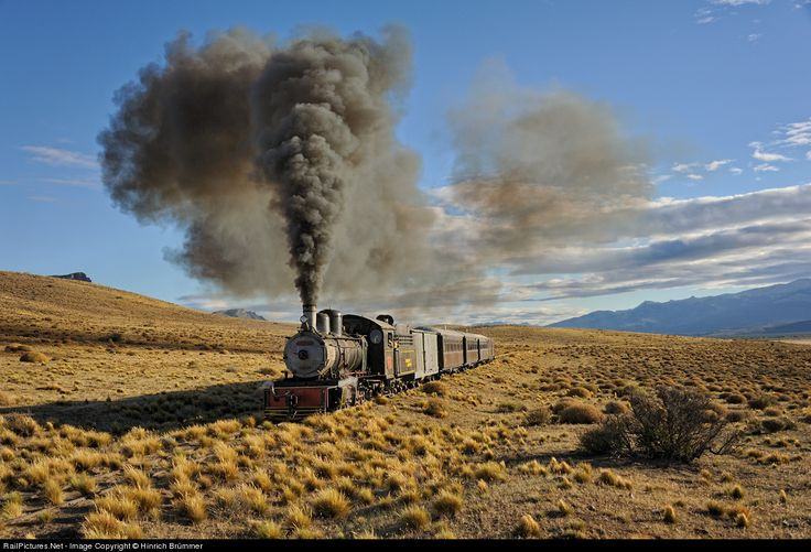 Ferrocarriles Argentinos  Steam 2-8-2  El Maiten