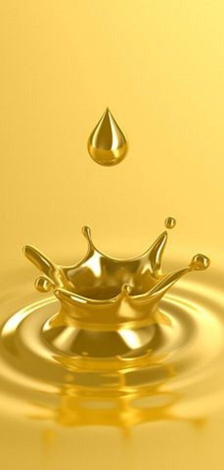 Yellow. Golden Droplet!