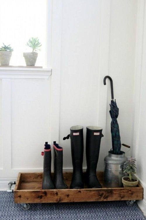 DIY Boot Tray from Fixer Upper's Joanna Gaines!                                                                                                                                                     More