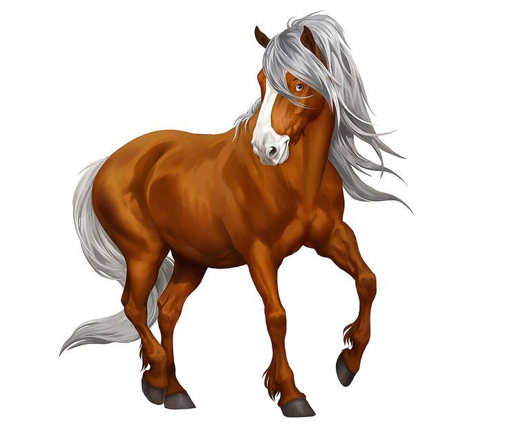 лошадь рисунок без фона подборка
