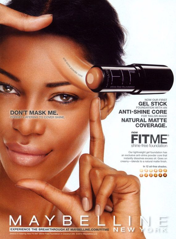 Jessica White for Fit Me Foundation from Maybelline New York   Beauty Is Diverse ™