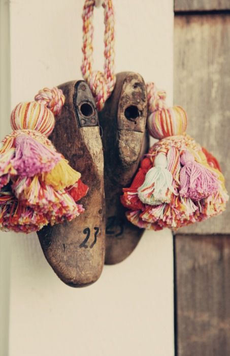 lovely photo. love the light.   shoe lasts and tassels..wonderful...Reverie Daydream boutique blog