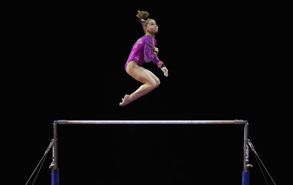 Ragan Smith Photos Photos - Ragan Smith of the United States competes on the uneven bars during Day 2 of the 2016 Pacific Rim Gymnastics Championships at Xfinity Arena on April 9, 2016 in Everett, Washington. - 2016 Pacific Rim Gymnastics Championships - Day 2