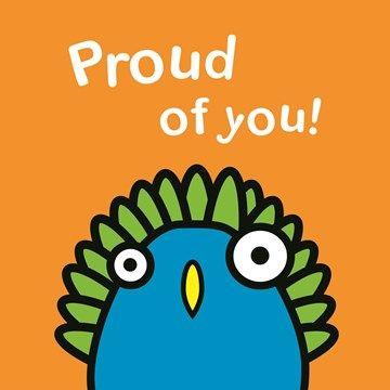 Nieuwe in de collectie: kaarten van Nurdys. #nurdys #hallmark #hallmarknl #kaart #card #trots #compliment #proudofyou #peacock #pauw