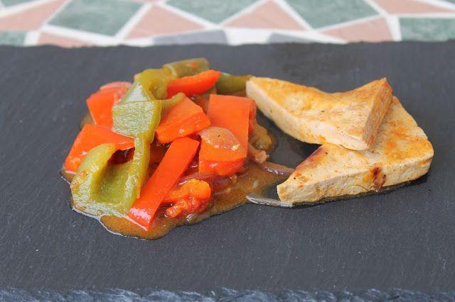 Stefyveganfood: Tofu ai peperoni