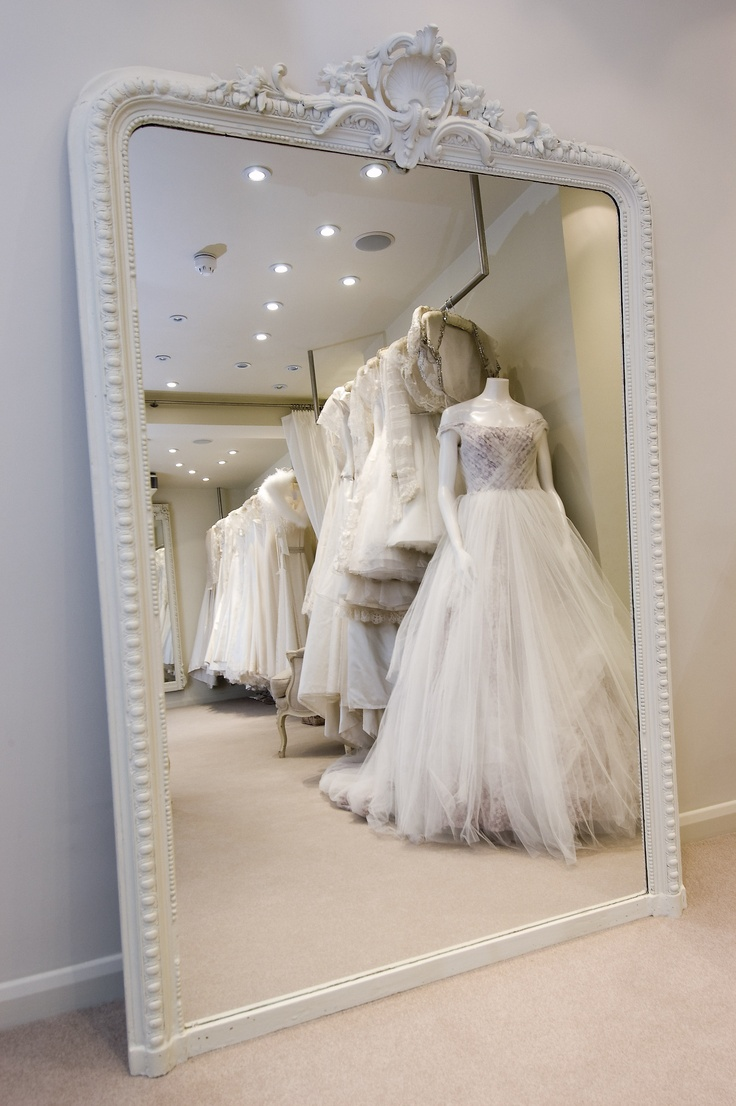 148 best bridal shop interior images on pinterest bridal shops the phillipa lepley bridal shop in london mirror shape junglespirit Images