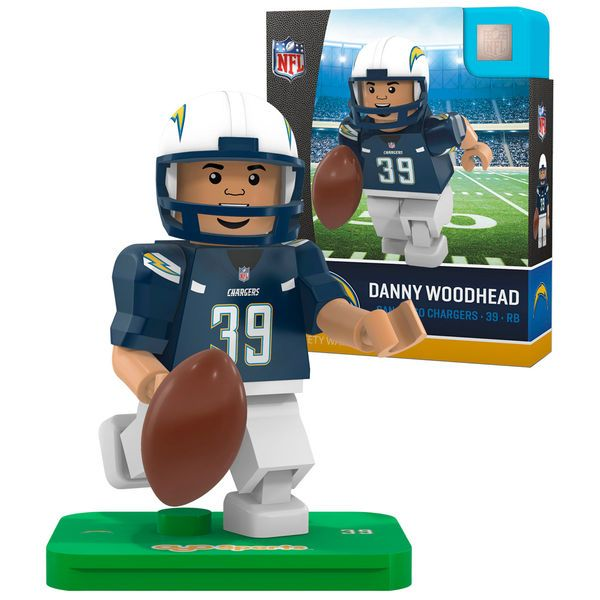 59f2e018f ... Jersey at Chargers Shop Danny Woodhead San Diego Chargers OYO Sports  Generation 5 Player Minifigure - 9.99 ...