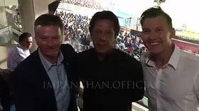Imran Khan, Steve Waugh and Brett Lee ‪ in ‎Kolkata‬ T20 world cup Match|ARY latest NEws