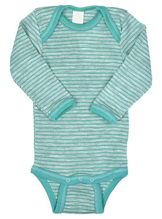 48d7157f1 EcoAble Apparel Thermal Baby Onesie Bodysuit Pajama Long Sleeves ...
