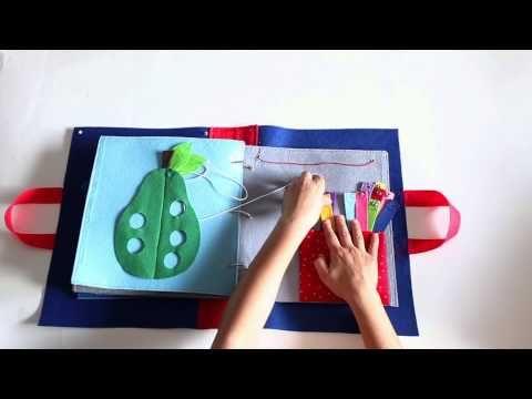 QUIET BOOK, LIBRO DE ACTIVIDADES - YouTube