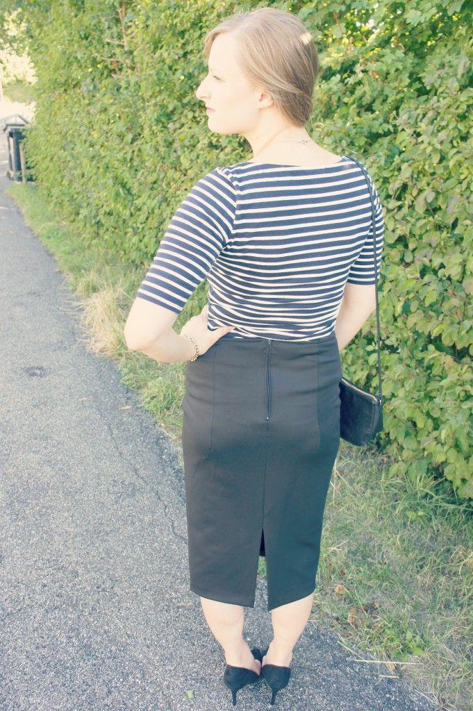Pencil Skirt Pattern (High Waist)