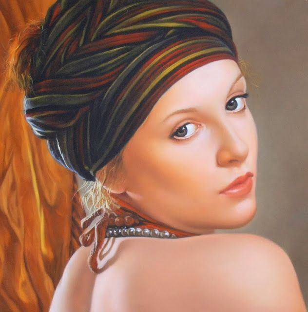 Rostros retratos de mujeres en tres cuartos de perfil arte for Cuartos de ninas vonitas