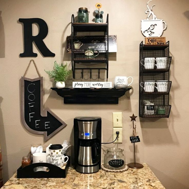 Farmhouse Coffee Station Ideas Farm Style Coffee Bar Ideas Pictures For Your Home Coffee Bar Home Diy Coffee Station Coffee Bars In Kitchen