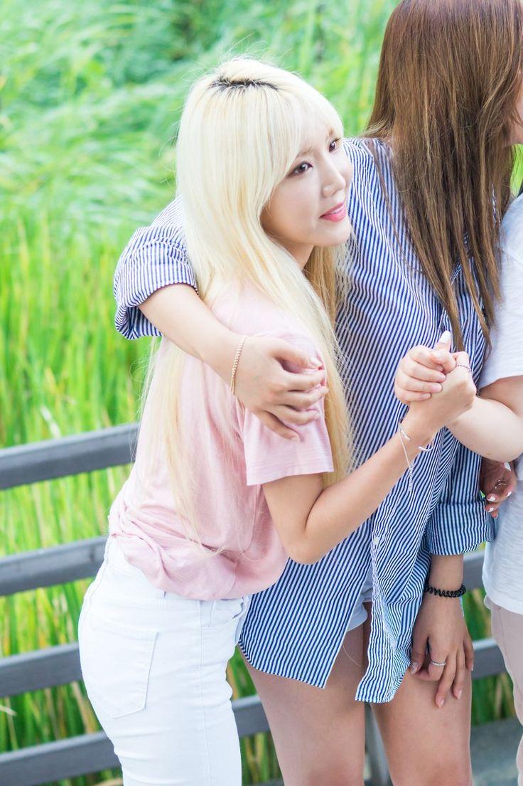 [16.08.28] #HYEJI 혜지 and #YUN 윤