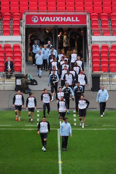 John Terry Fabio Capello Photos: England Training And Press Conference