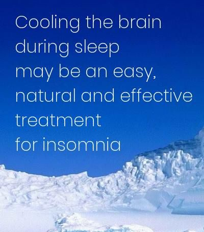 Cooling the brain during sleep may be an easy, natural and effective treatment for insomnia.    People with primary insomnia may be able to find relief by wearing a cap that cools the brain during sleep, suggests a research.    https://aasm.org/cooling-the-brain-during-sleep-may-be-an-easy-natural-and-effective-treatment-for-insomnia/  #sleep #insomnia