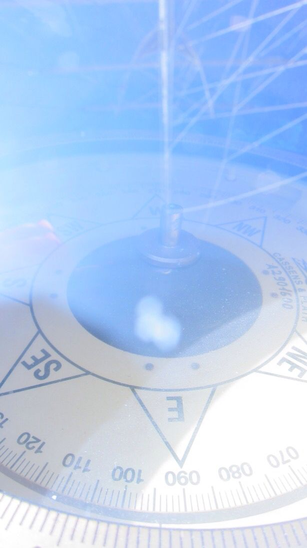 Compass on the tallship Star Clipper