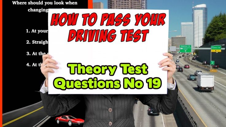 How to Pass Your Driving Test | UK Theory Test Questions | No 19 |Learn how to pass your driving test #uktheorytest #theorytest This video give you insight into what questions you can expect to get in your UK theory test exam #drivingtest (No 19) This video is part of a series that aim to help you learn your highway code and pass your theory test. A video for driving theory revision and road signs test. Questions from the theory test UK 2017 #roadsigns