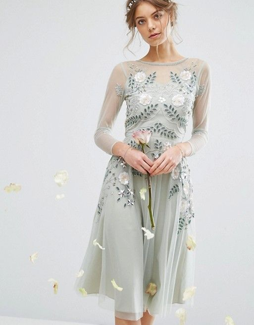 ASOS Wood Nymph goes to a party dress